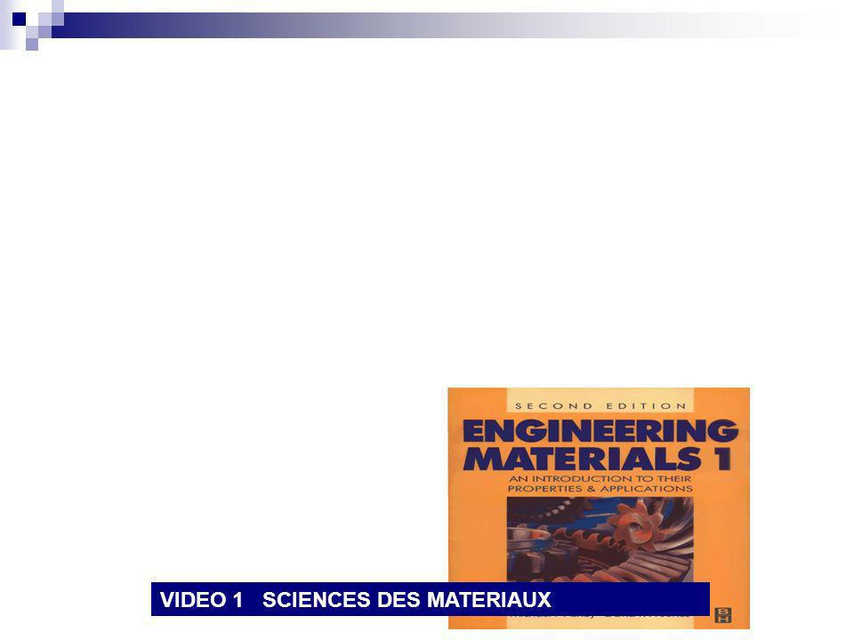 VIDEO 1 SCIENCES DES MATERIAUX