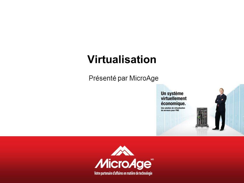 Virtualisation Présenté par MicroAge