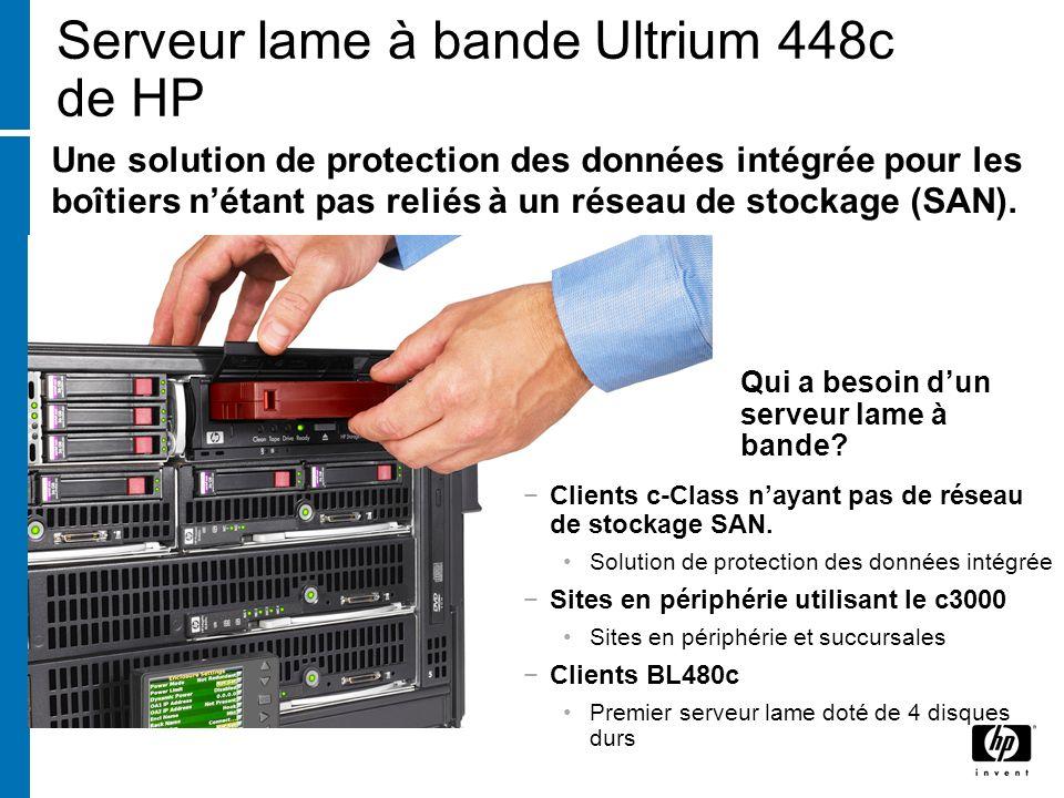 Serveur lame à bande Ultrium 448c de HP