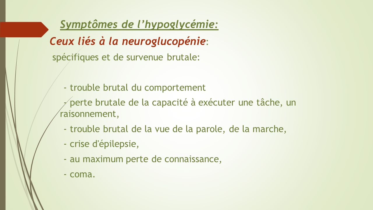 crise acétone symptômes