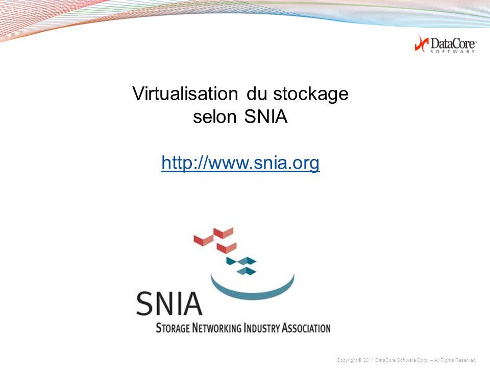 Virtualisation du stockage