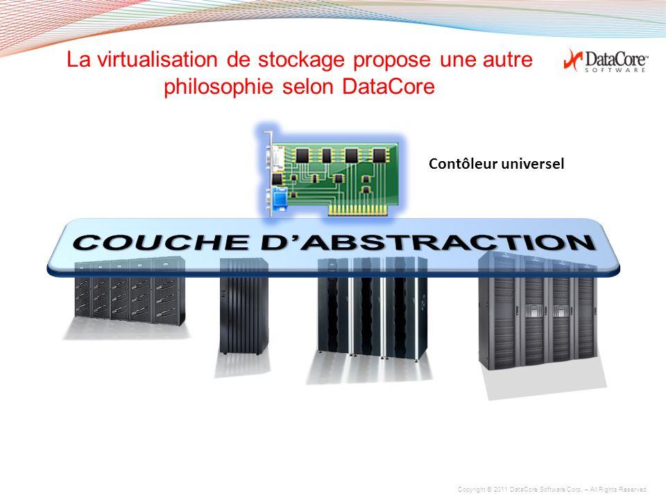 La virtualisation de stockage propose une autre philosophie selon DataCore