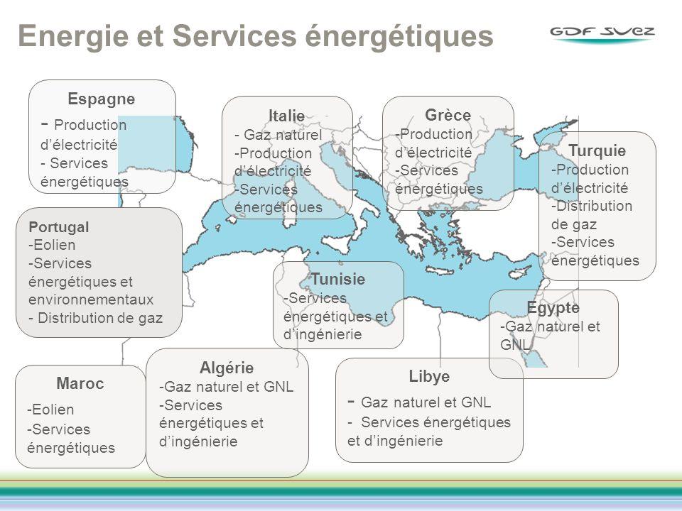 Energie et Services énergétiques
