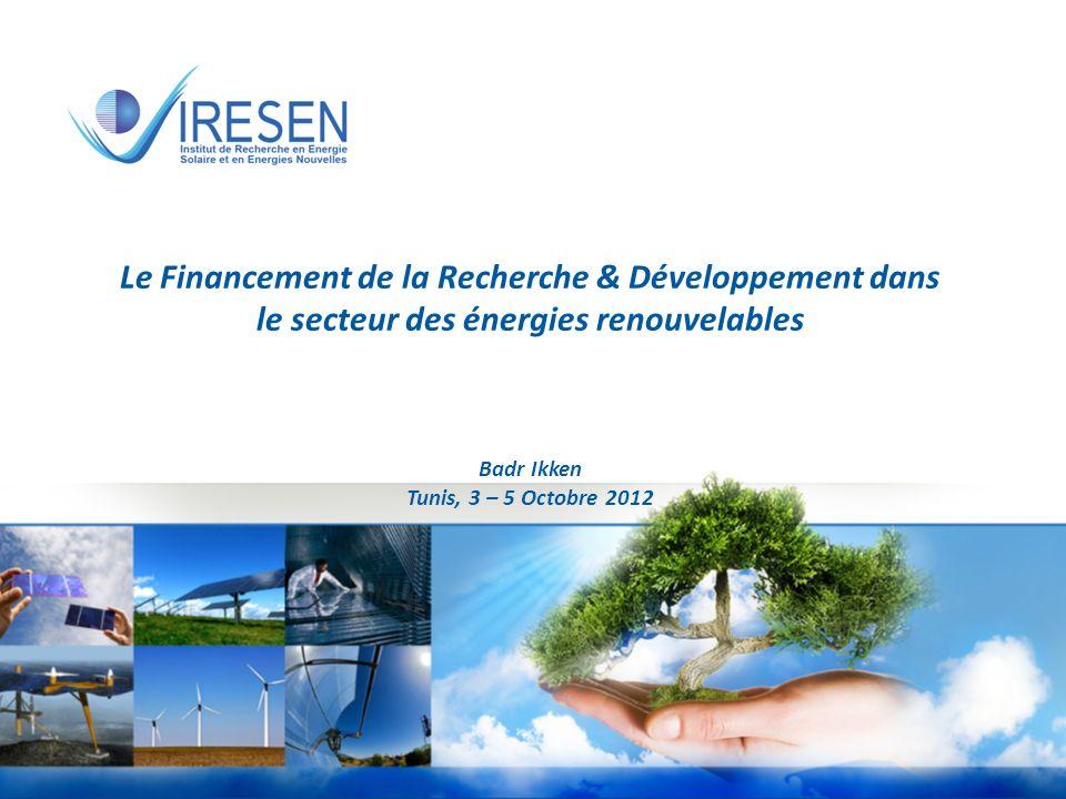 d'énergies renouvelables en Afrique du Nord