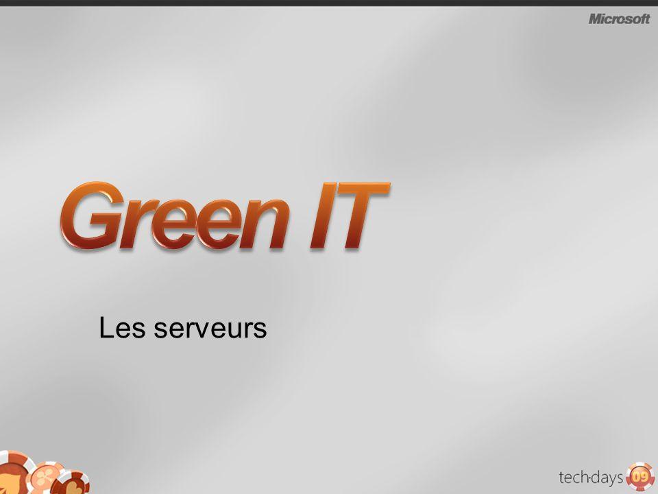 Green IT Les serveurs