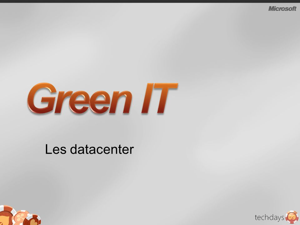 Green IT Les datacenter