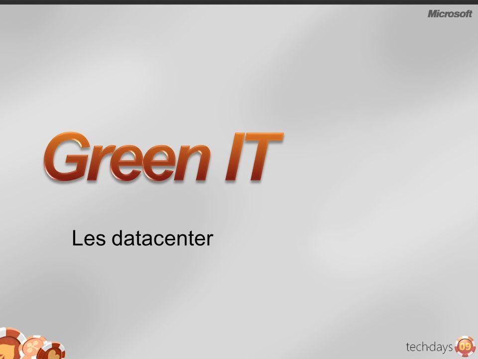Green IT Les datacenter