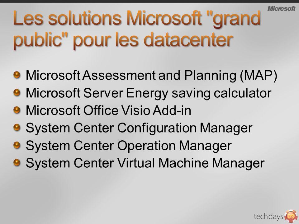 Les solutions Microsoft grand public pour les datacenter