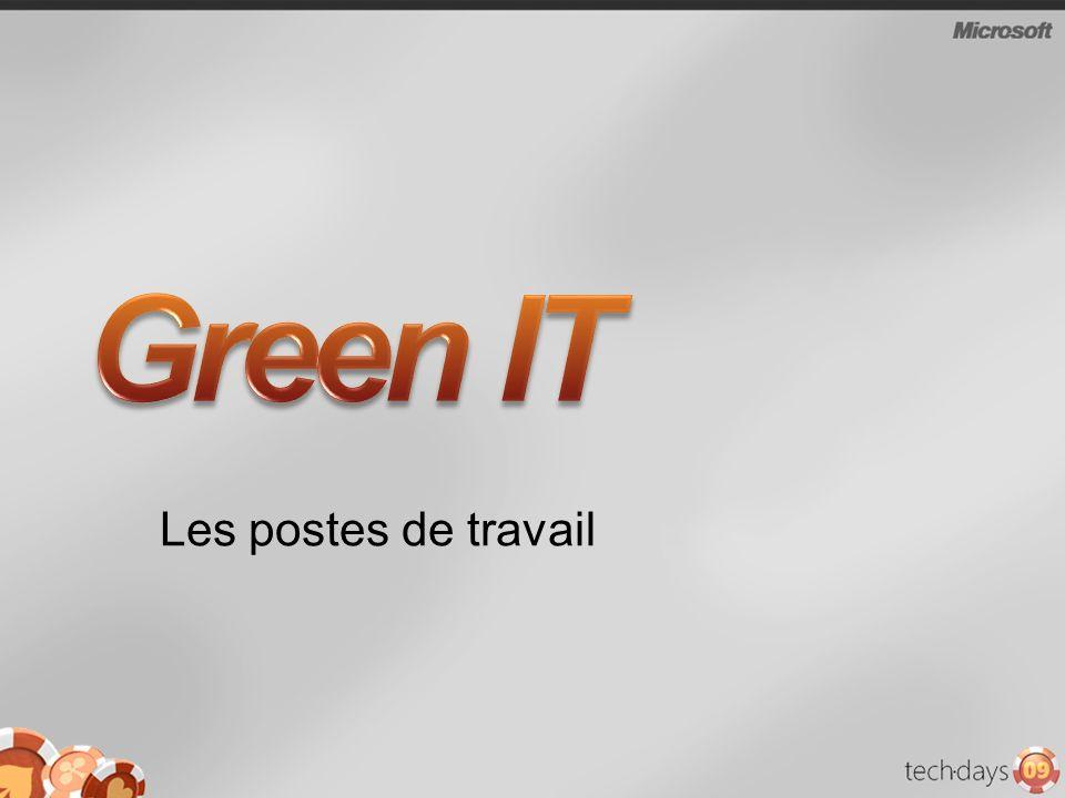 Green IT Les postes de travail