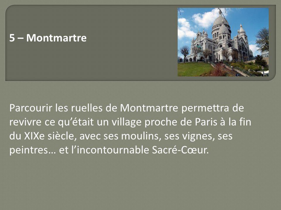 5 – Montmartre