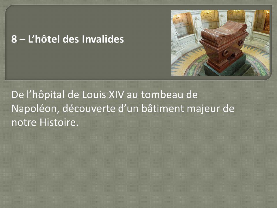 8 – L'hôtel des Invalides