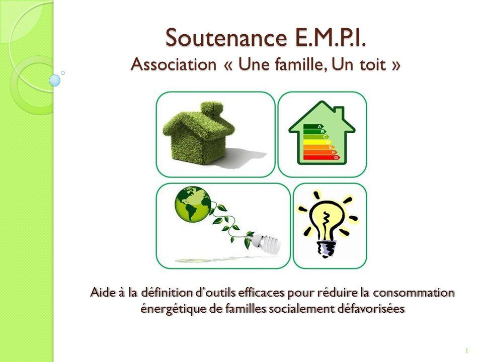 Soutenance E.M.P.I. Association « Une famille, Un toit »