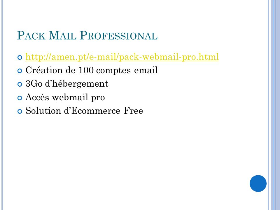 Pack Mail Professional