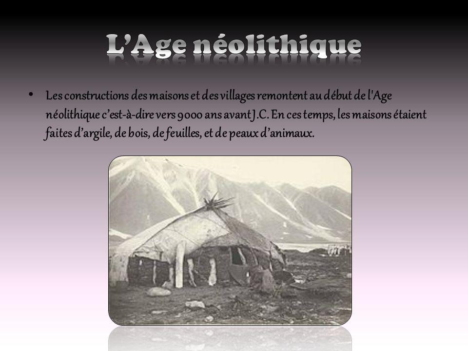 L'Age néolithique