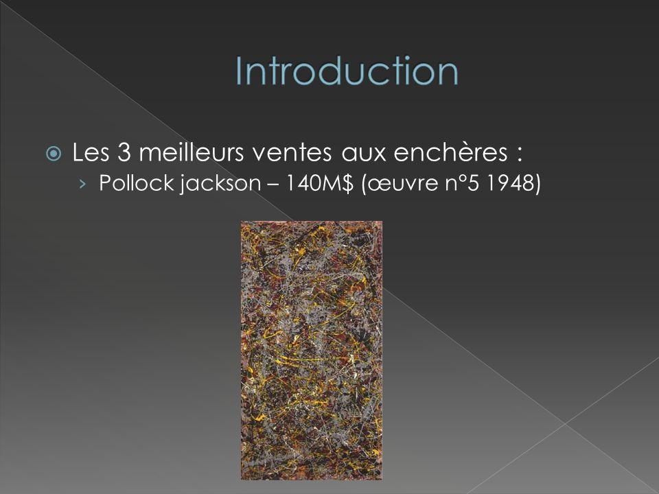 Introduction Les 3 meilleurs ventes aux enchères :