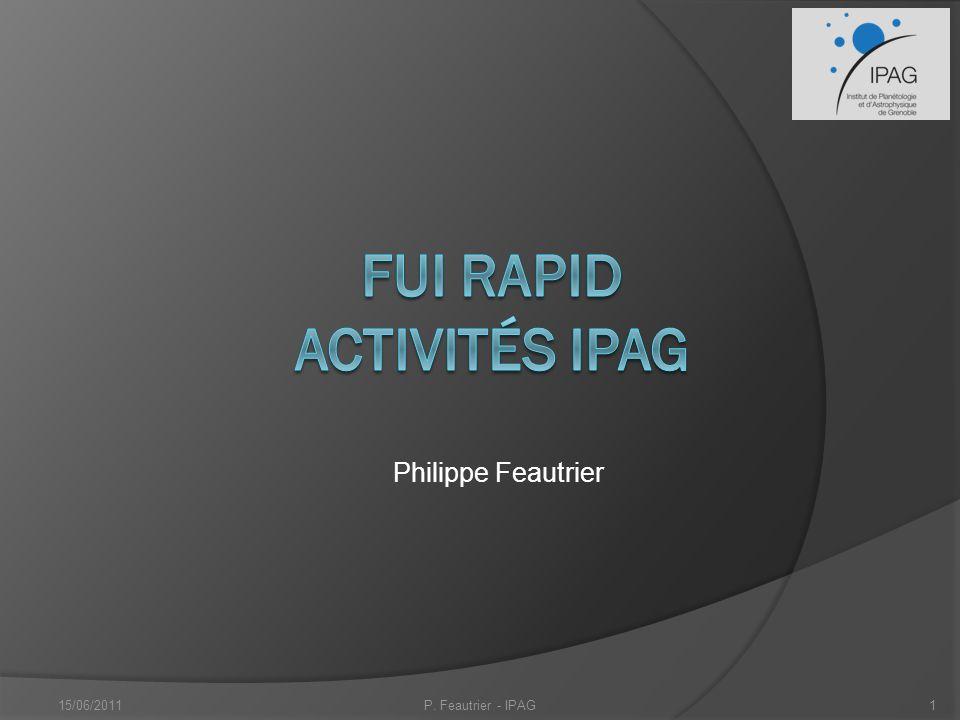 FUI RAPID Activités IPAG