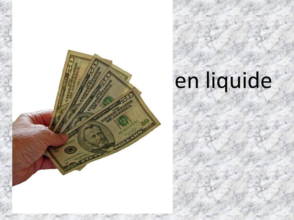 en liquide