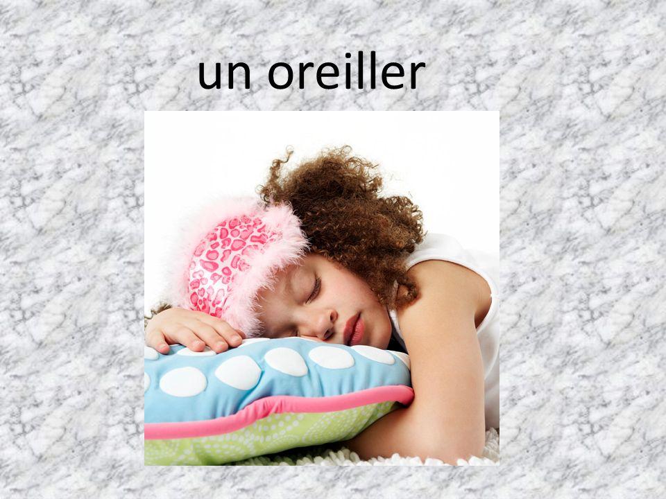 un oreiller