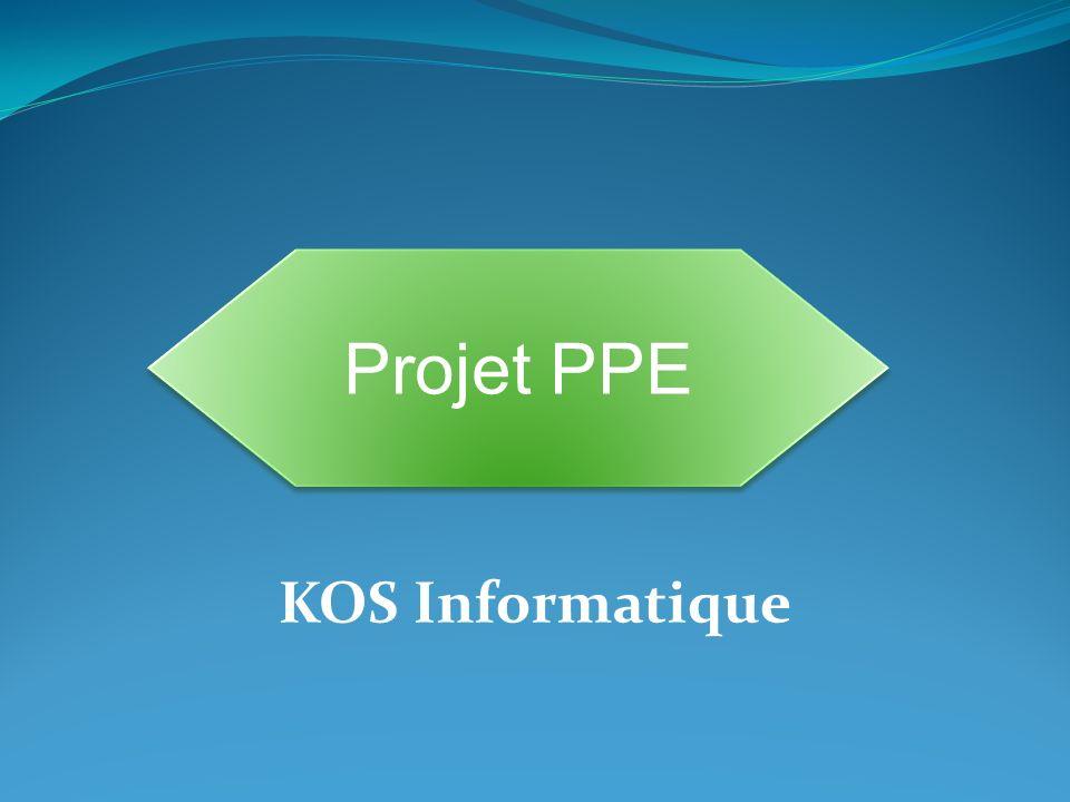 Projet PPE KOS Informatique