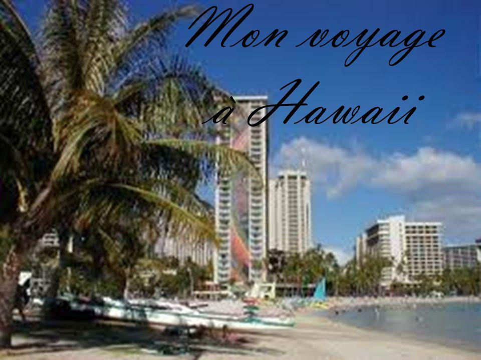 Mon voyage à Hawaii