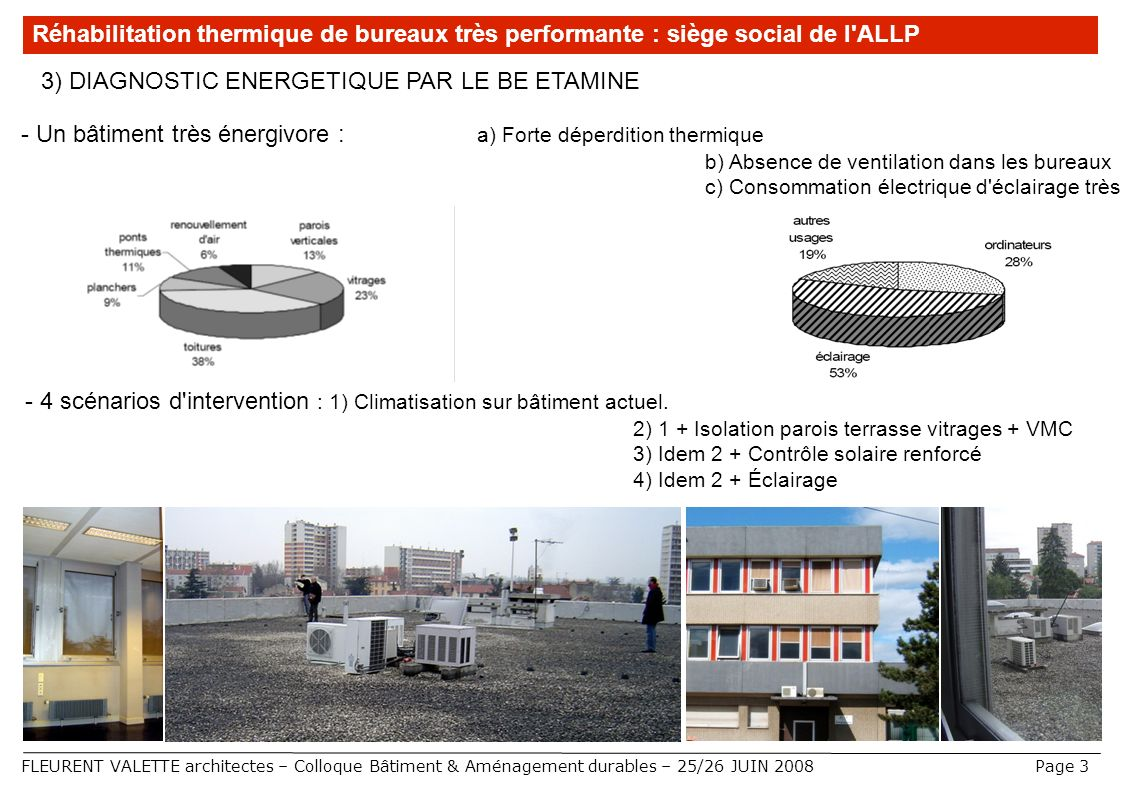 3) DIAGNOSTIC ENERGETIQUE PAR LE BE ETAMINE