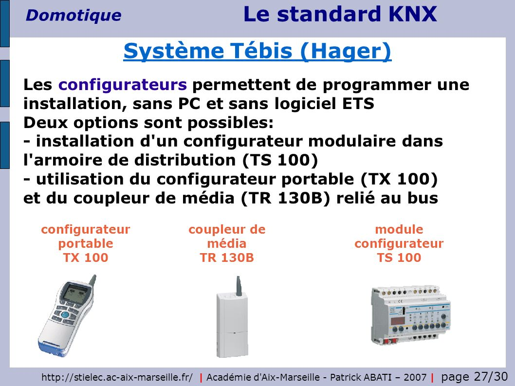 configurateur portable