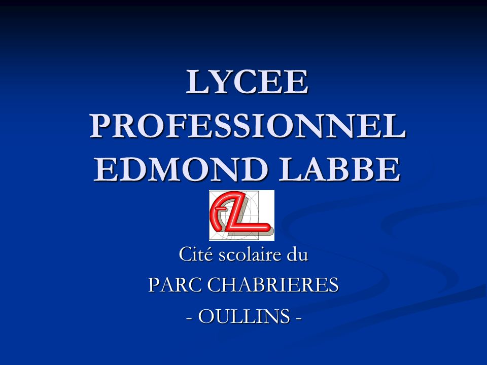 LYCEE PROFESSIONNEL EDMOND LABBE
