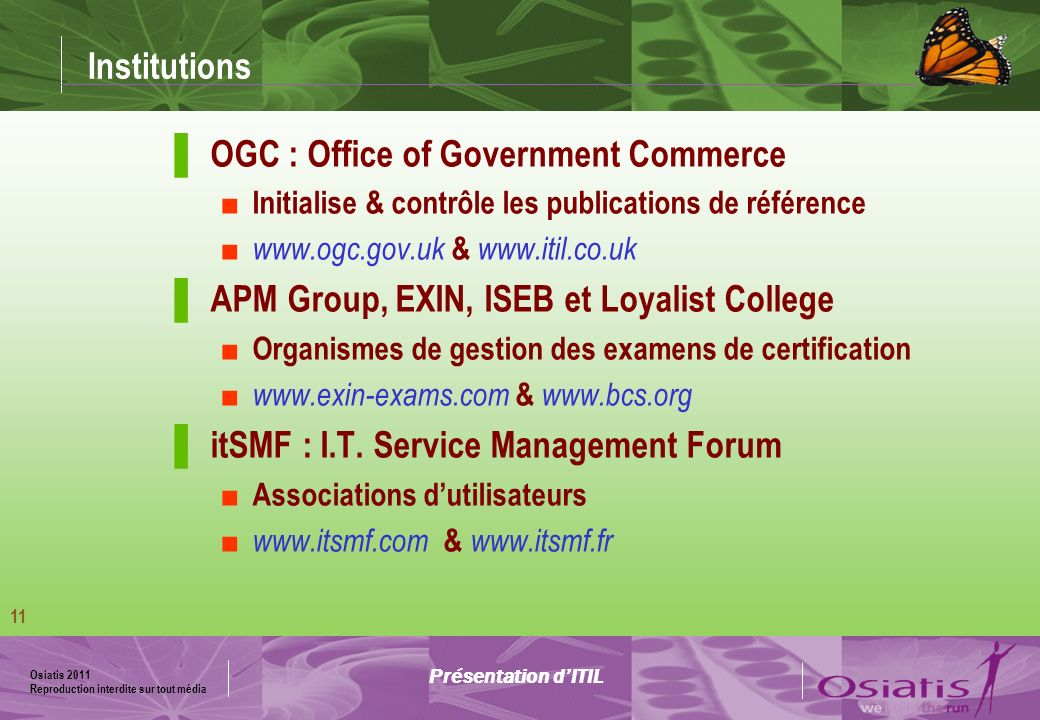 OGC : Office of Government Commerce