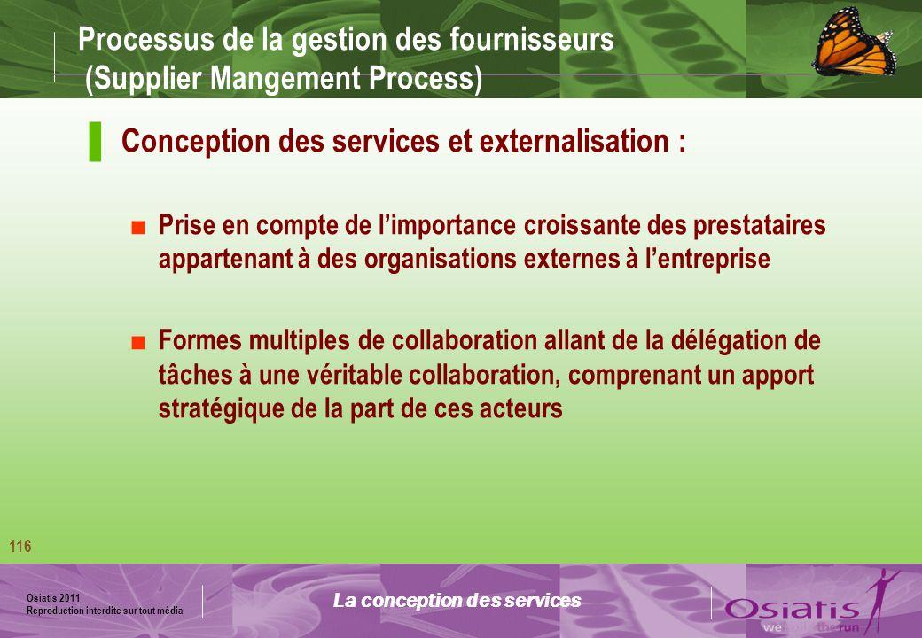 Processus de la gestion des fournisseurs (Supplier Mangement Process)
