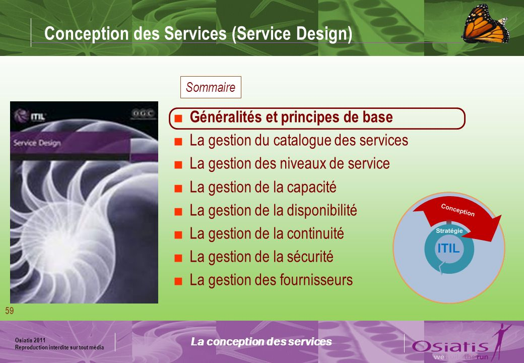 Conception des Services (Service Design)