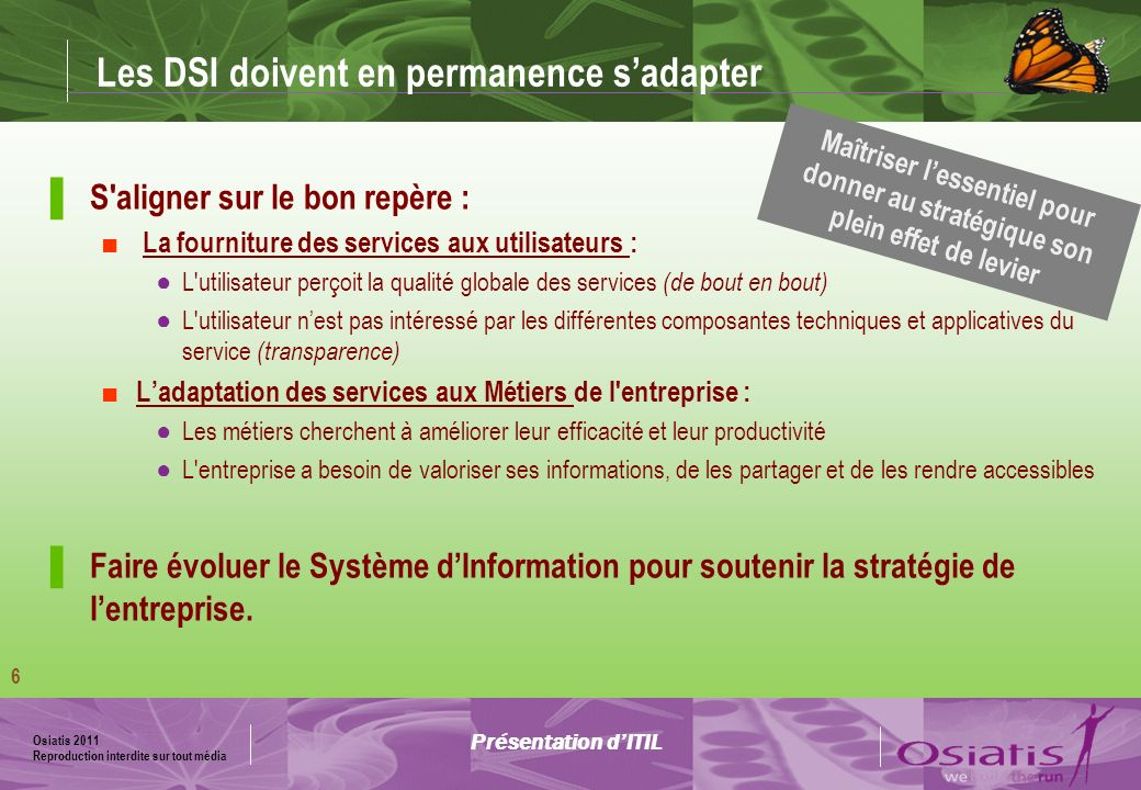 Les DSI doivent en permanence s'adapter