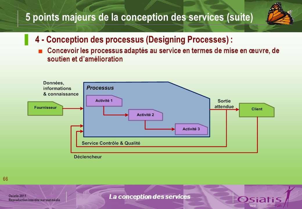 5 points majeurs de la conception des services (suite)
