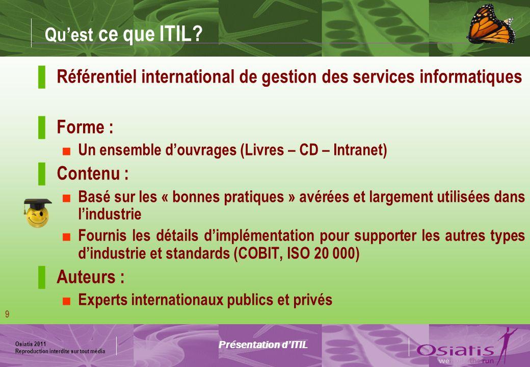 Référentiel international de gestion des services informatiques