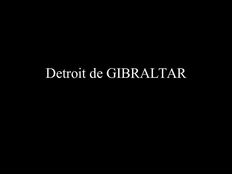 Detroit de GIBRALTAR
