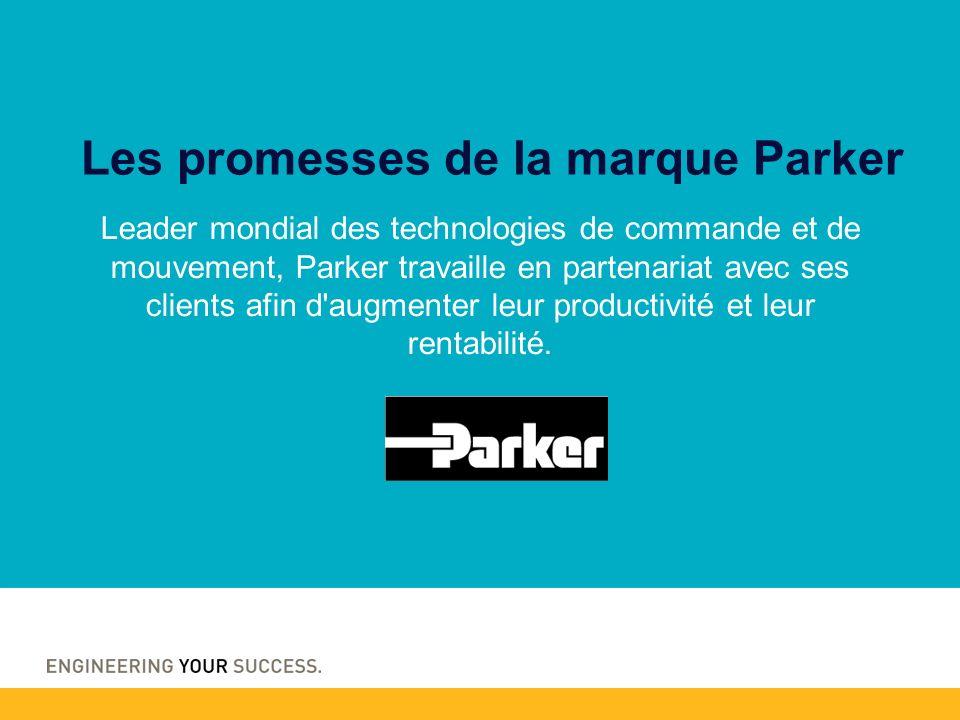 Les promesses de la marque Parker