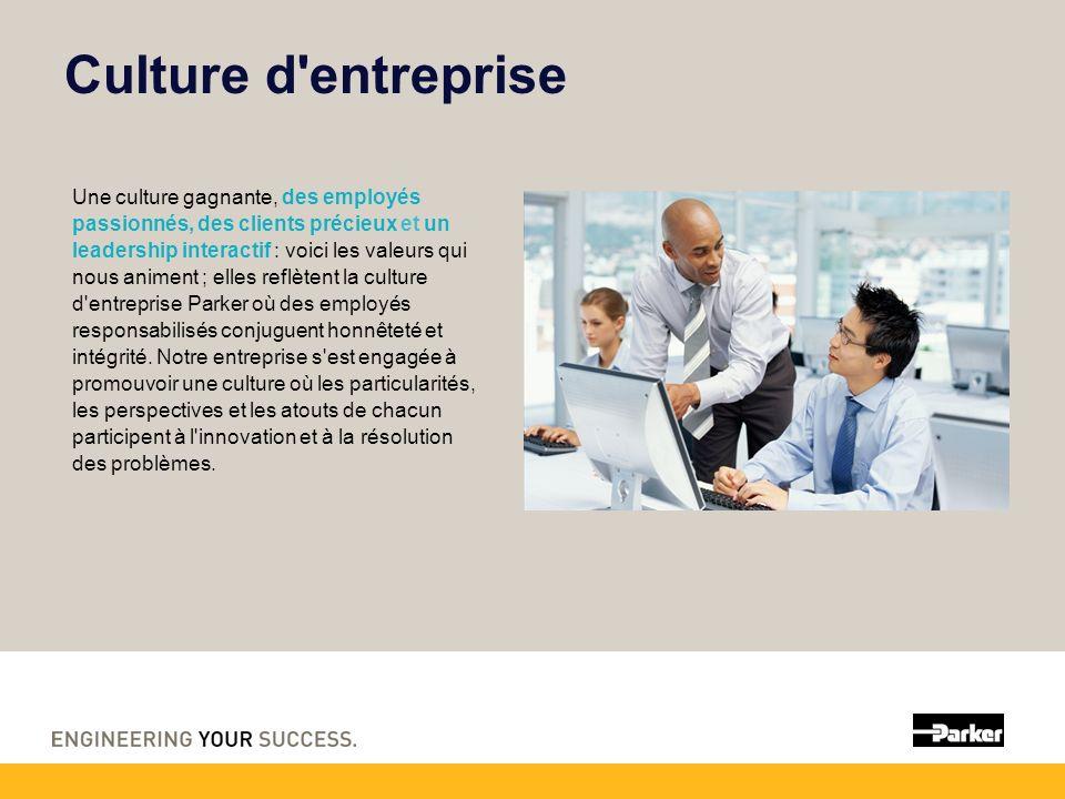 Culture d entreprise