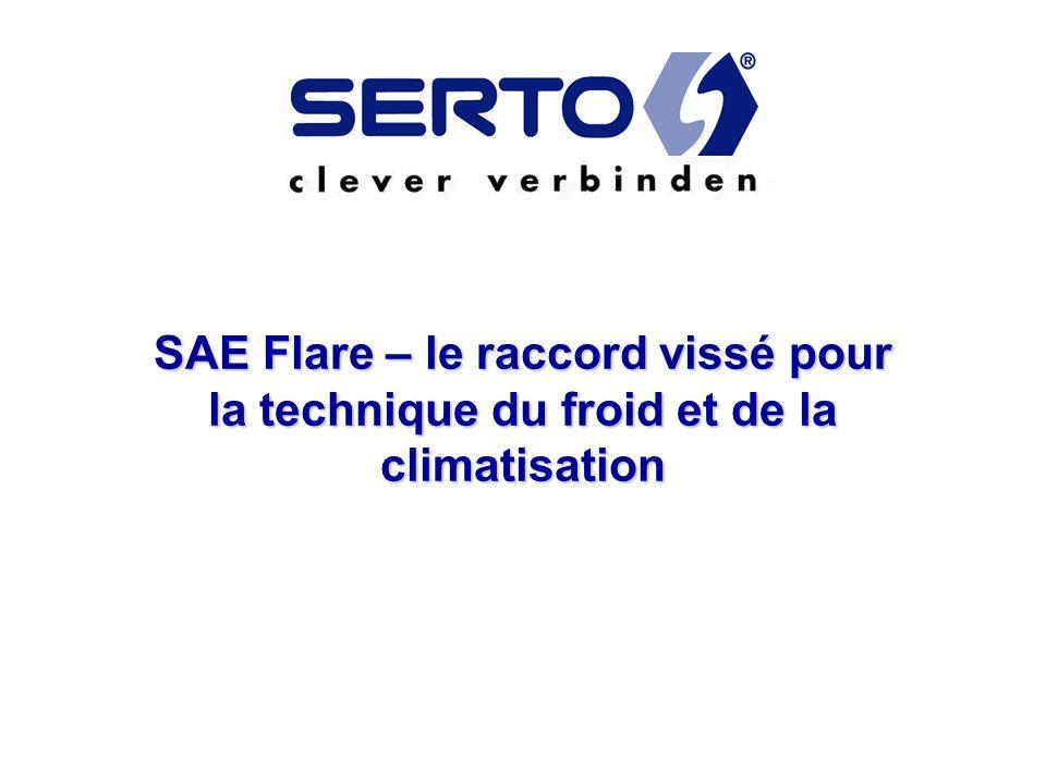 SAE Flare – le raccord vissé pour la technique du froid et de la climatisation