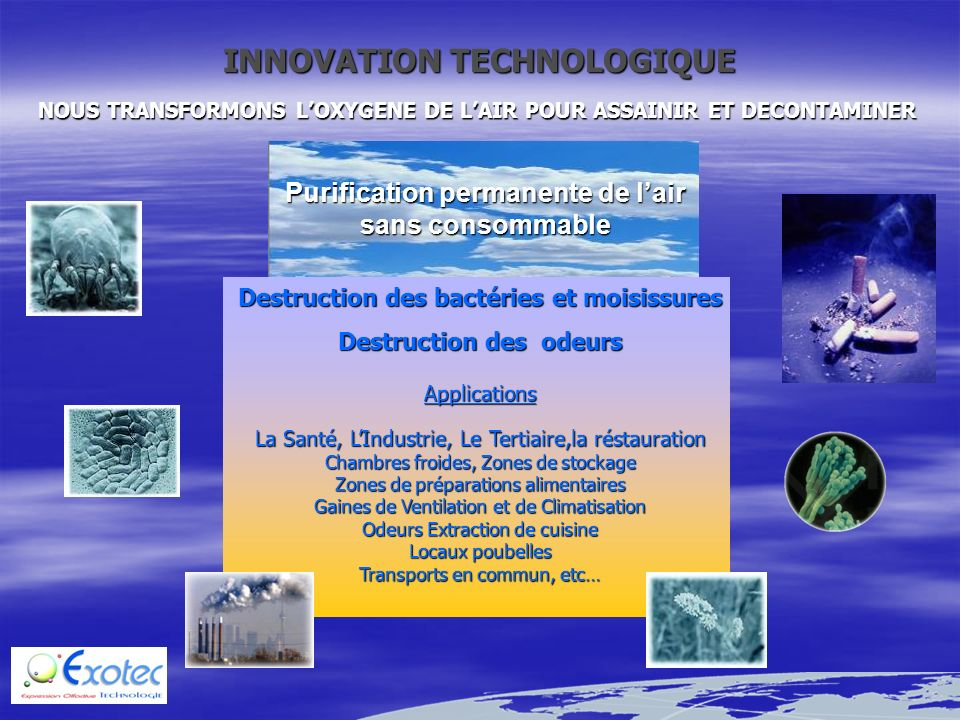 INNOVATION TECHNOLOGIQUE
