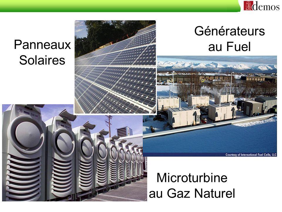 Microturbine au Gaz Naturel