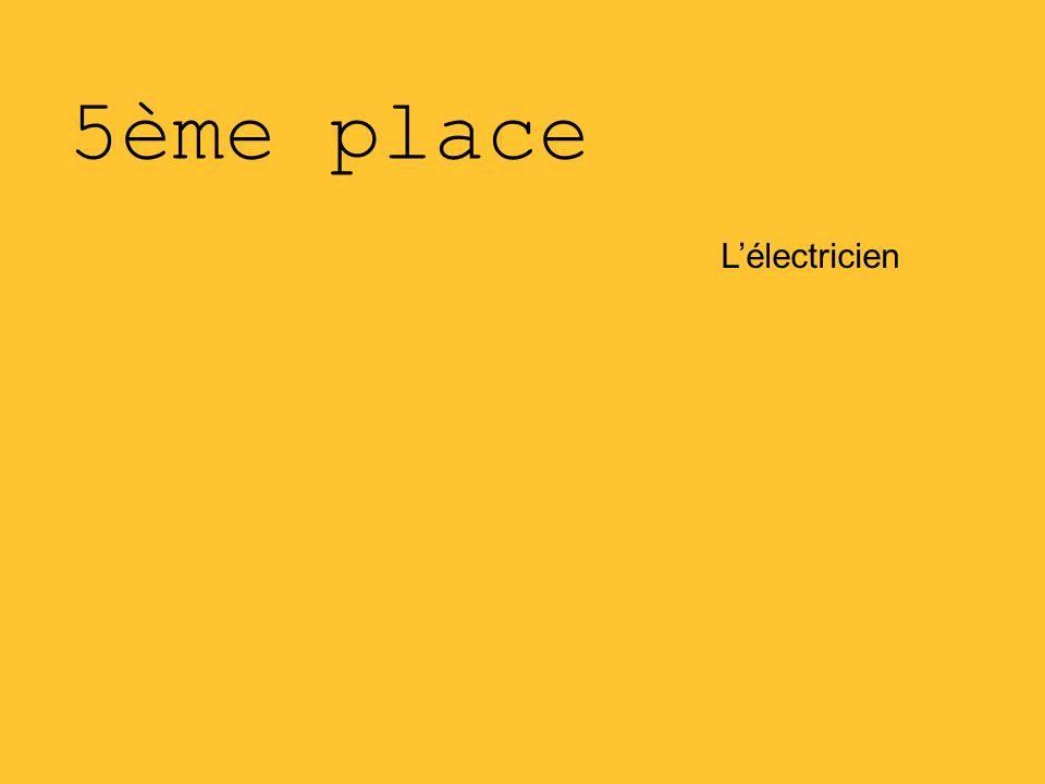 5ème place L'électricien