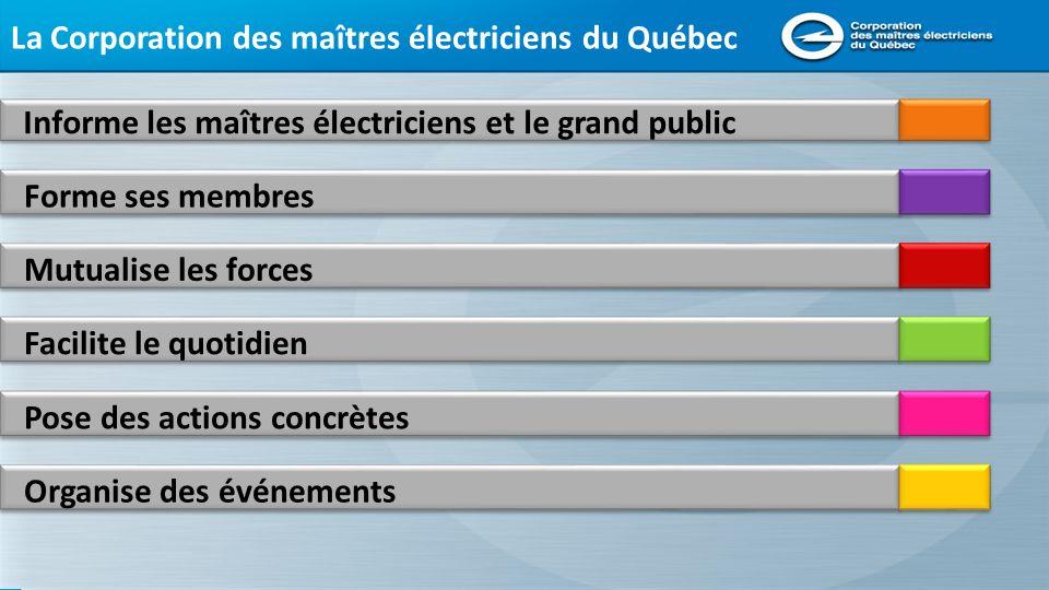 La Corporation des maîtres électriciens du Québec