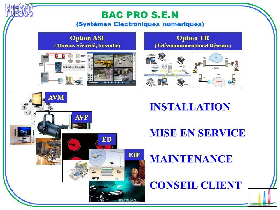 BAC PRO S.E.N (Systèmes Electroniques numériques)