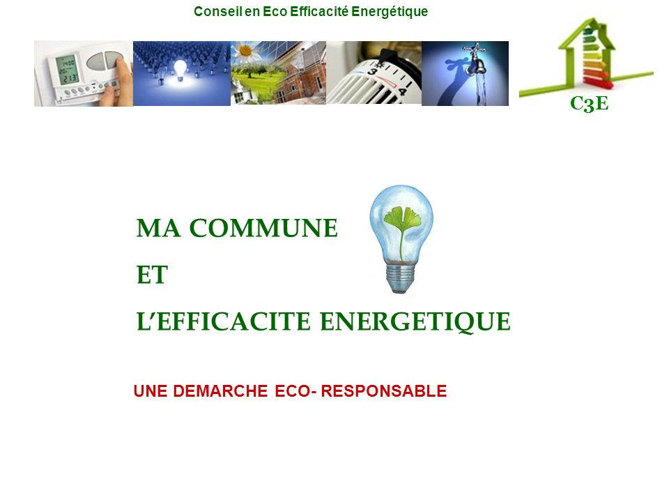 L'EFFICACITE ENERGETIQUE