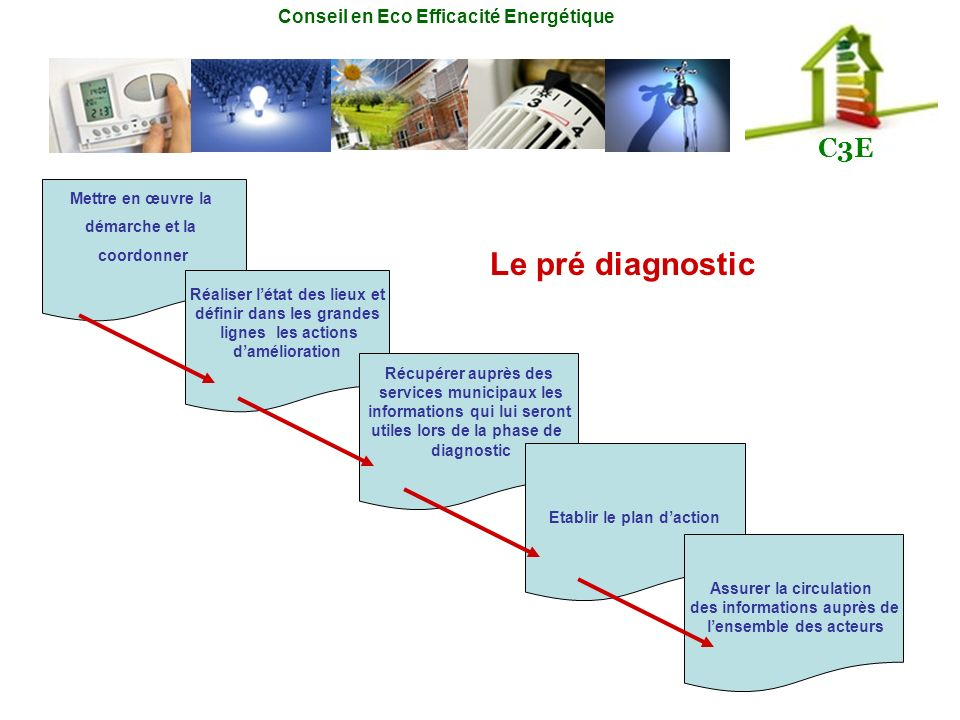 Le pré diagnostic Mettre en œuvre la démarche et la coordonner