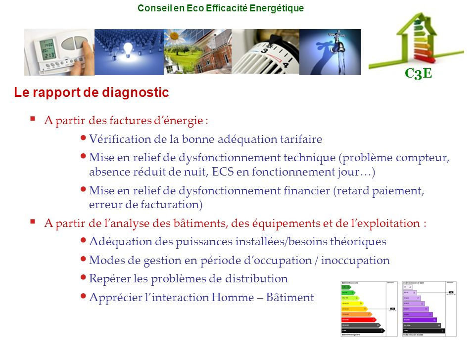 Le rapport de diagnostic