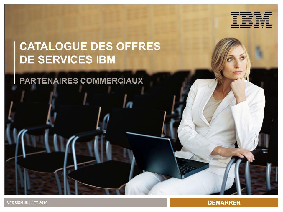CATALOGUE DES OFFRES DE SERVICES IBM