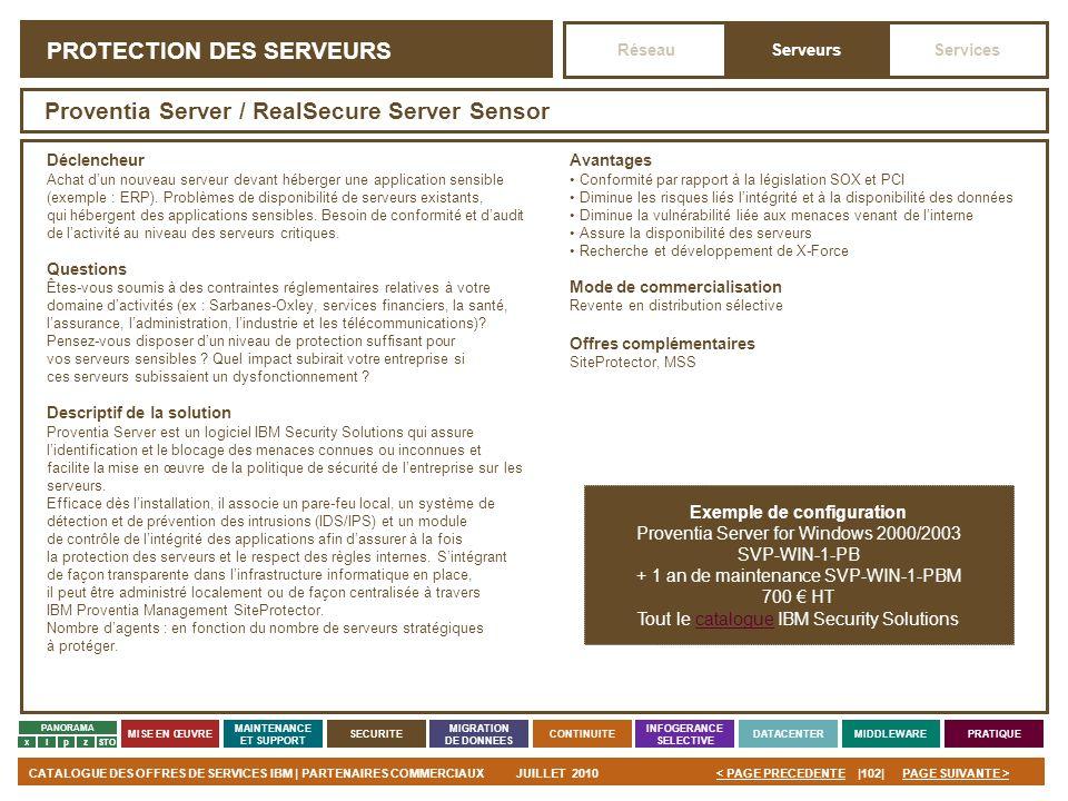 PROTECTION DES SERVEURS