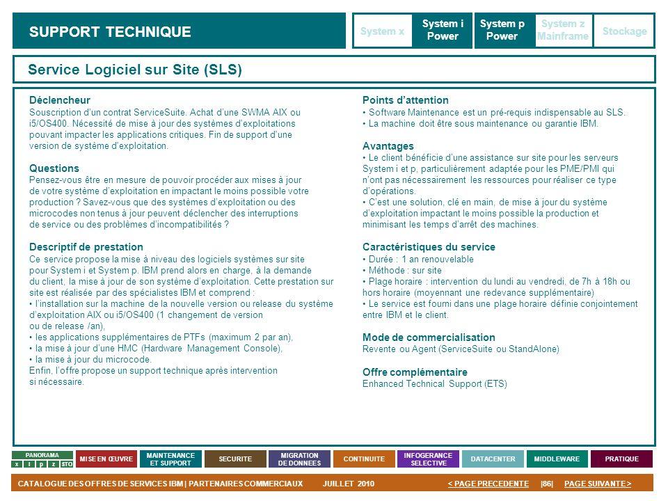 Service Logiciel sur Site (SLS)