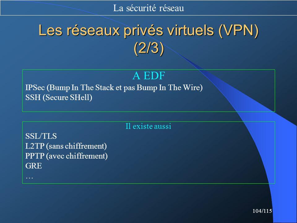 Les réseaux privés virtuels (VPN) (2/3)