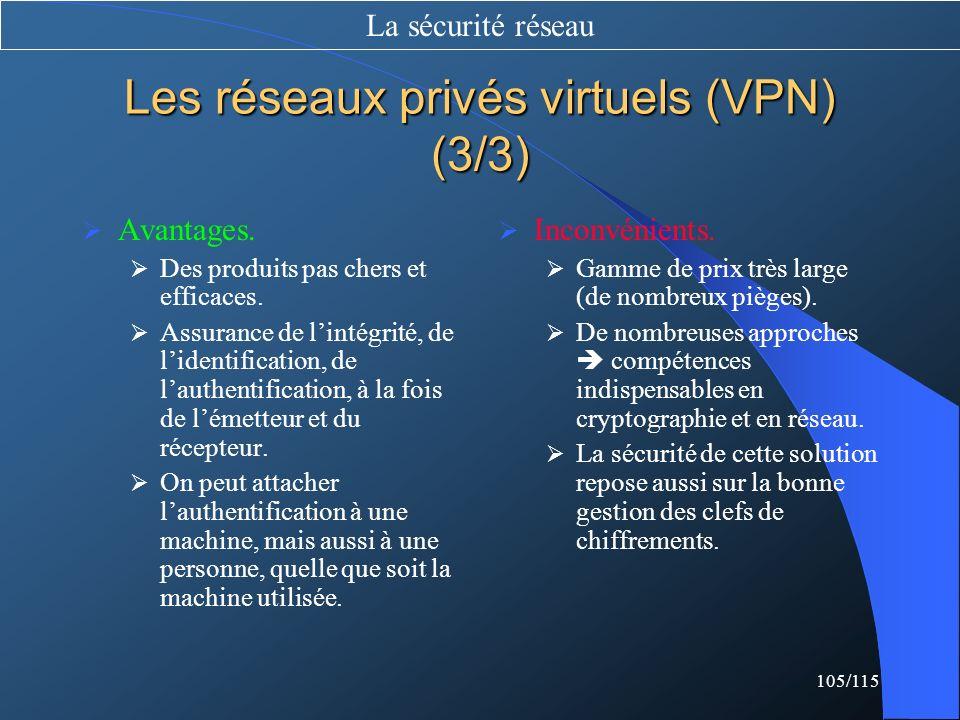Les réseaux privés virtuels (VPN) (3/3)